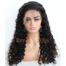 Brazilian human hair wet wave full lace silk top wig--BYC232