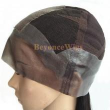 Human hair Thin Skin CAP Glueless full lace wig--BYC121