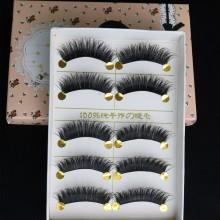 5 pcs of Eyelashes 3D False lashes--Y003