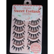 5 pcs of Eyelashes 3D False lashes--Y004