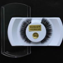 one pair of 3D Silk protein Handmade Mink False EyeLashes--Y005