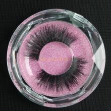 one pair of 3D Handmade Mink False EyeLashes--Y006