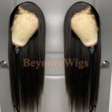 10A top quality 100% human hair HD lace front wig--BYC456