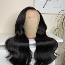 100% Brazilian virgin body wave glueless 370 lace wig--BYC902