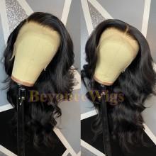 100% Brazilian virgin loose wave glueless 370 lace wig--BYC904
