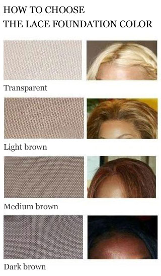 Beyonce wigs lace color chart